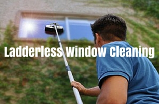 Benefits of Ladderless Window Cleaning